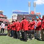 Standing ovation. #Reds https://t.co/ti9szqEq2Y