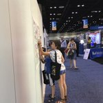 Kids love the coloring wall too! Booth 1903 #alaac16 https://t.co/QMphhIvmgi