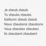 """Zbeub zbeub à la base ça veut dire """"jvais te bz avec violence""""et puis c parti en couillle vs en avez fait un verbe ???? https://t.co/gVwhOvK8KH"""