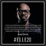 Thank you @RealBlackCoffee for putting Africa on the map. https://t.co/TN7j8QcFhq