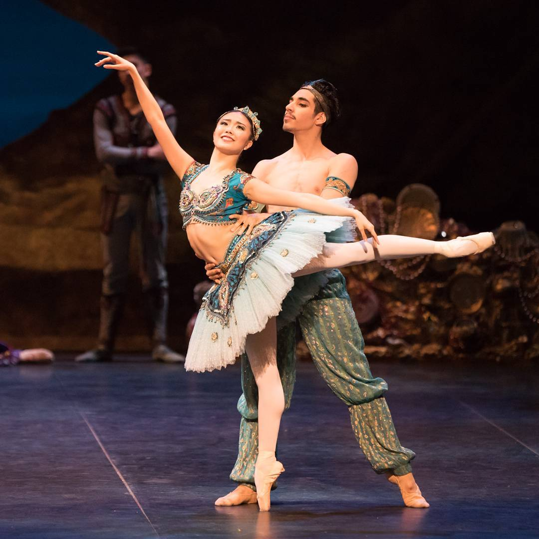 Tonight @ShioriKase was promoted to the rank of Principal Dancer. Congratulations! Photo: Shiori with Cesar Corrales https://t.co/vzef2VZwcJ