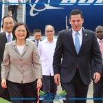 Presidenta de la República de China (Taiwán) Tsai Ing-Wen llega al país para la inauguración del #CanalAmpliado. https://t.co/ZxHhPHNpcD