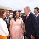 Don Juan Carlos llega a Panamá para la inauguración del @canaldepanama Ampliado https://t.co/EP2oM83MIy https://t.co/hcMN6k7BVL