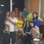 @rpctvpanama Apoyando a #Colombia y viendo el partido con los mejores #CopaAmericaRPC #CopaCentenario https://t.co/SCCnpsal7P