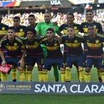 Colombia, la 2da selección más joven de la Copa (25 años en promedio) termina tercera. Calma amigos. Es un proceso. https://t.co/PuOkqS6lia