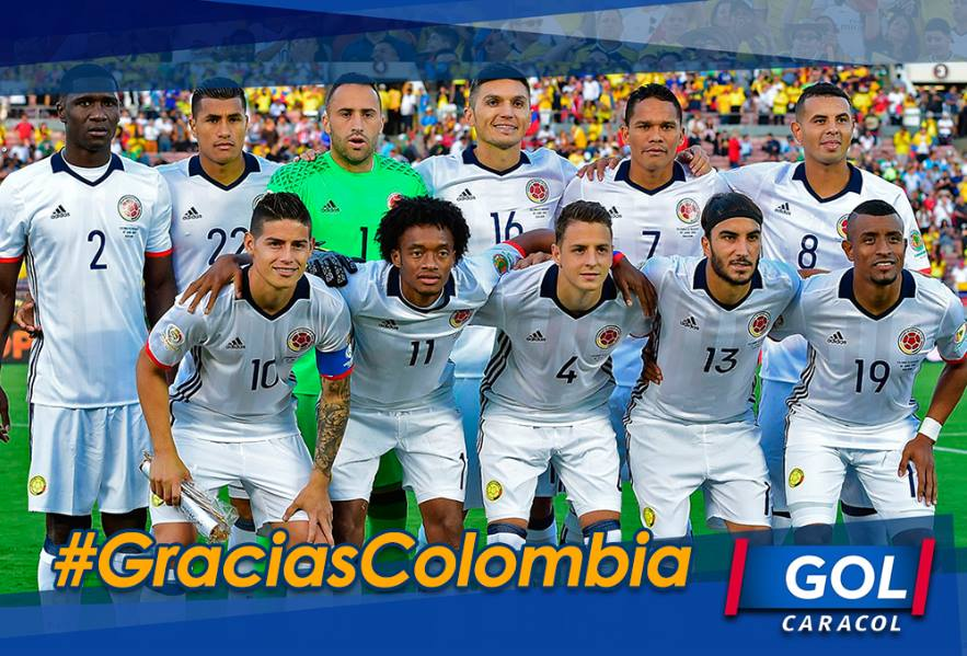 #GraciasColombia Somos terceros de la #CopaAmerica ¡Bien muchachos! Todo un país está orgulloso de ustedes https://t.co/KtCd8izGoK