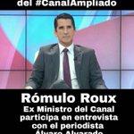@RomuloRoux Ex Ministro del Canal mañana a las 7am con @AlvaroAlvaradoC en @TReporta #CANALAMPLIADO @CaDemocratico https://t.co/1jPL1E439w