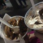 Enjoying our milkshakes at the food festival #omnomnom #ldnont https://t.co/Jjsot8Holc