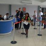 Embajador de Suiza Pedro Tulio Zwahlen llega al Aeropuerto Marcos A. Gelabert. Vía @SENANPanama https://t.co/C9rjXAGnkh