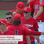 Wildcats are moving on! Arizona advances to its 8th CWS Finals, defeating Oklahoma State, 5-1. https://t.co/qN26nf7Xlz
