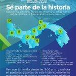 Desde tu provincia puedes ser parte de la apertura del #CanalAmpliado. Toma nota de los puntos. #SomosElCanal https://t.co/jrTfXqDVGG
