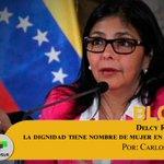 #Blog por Carlos Aznarez | Delcy Rodríguez: la dignidad tiene nombre de mujer en Venezuela https://t.co/yp81UTLPzu https://t.co/w4R2alhLot