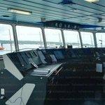 Estuvimos de manera EXCLUSIVA dentro del Cosco Shipping Panamá ya en aguas panameñas. #ElCanalDeTodos https://t.co/5Lo7VDqPg4