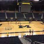 This is @Xaviersimpson3 new home court where he will put on a show. #GoBlue https://t.co/8bD4jvEmD9