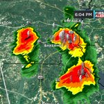Heavy rain falling over southeast Barbour & northern Henry counties. #alwx https://t.co/sOg9hclj31