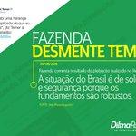 """Fica claro q os """"sólidos fundamentos"""" citados pela nota foram construídos pelo governo Dilma https://t.co/yaKtbvNV4R https://t.co/nPdvESaxT2"""