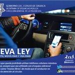 Ley del Tránsito, Movilidad y Vialidad; establece que queda prohibido utilizar teléfono celular mientras se conduce. https://t.co/iYvJyMdQmG