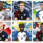 Six MLS players start for the #USMNT tonight. Good luck, fellas! #USAvCOL https://t.co/AzmD1idLRq