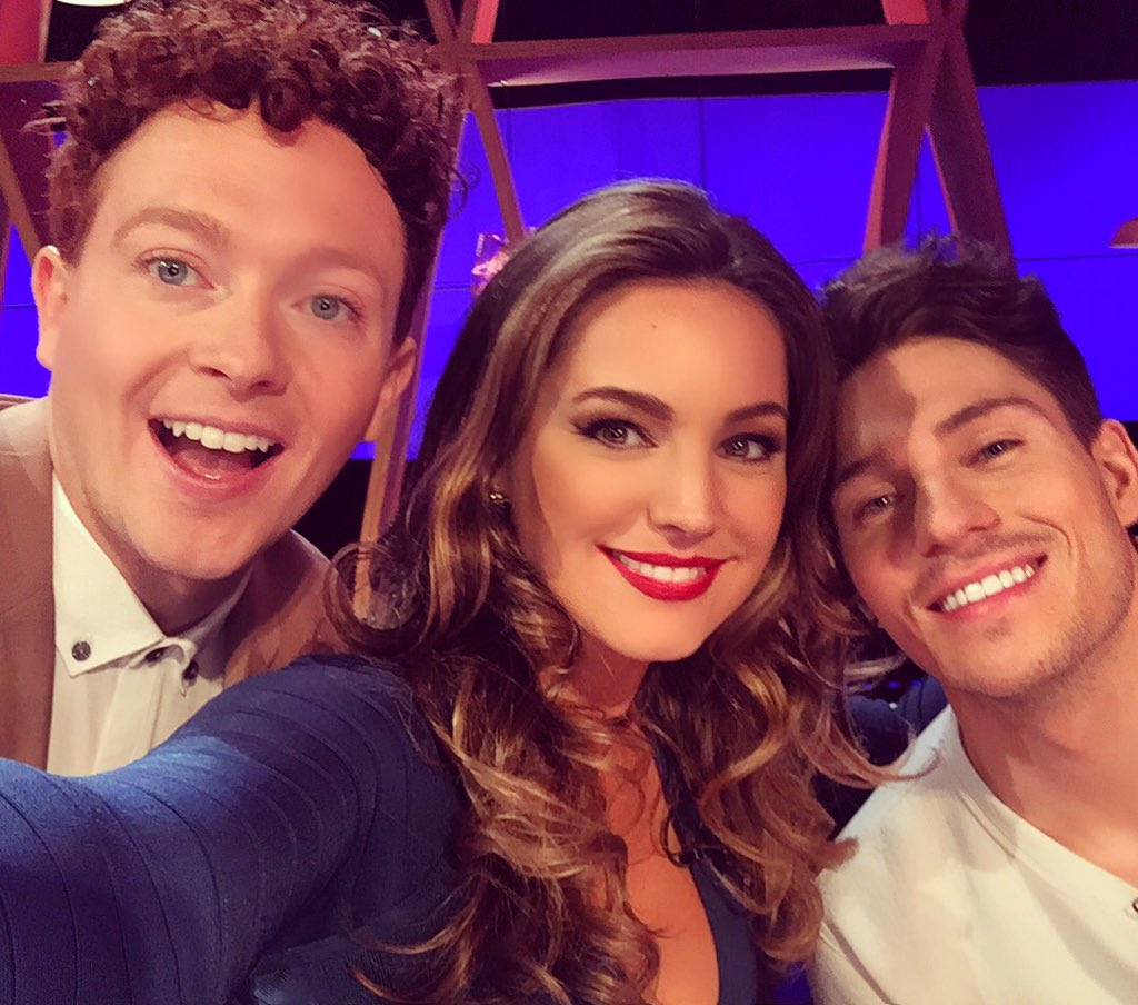Love my Team tonight on #INMIY @stephencomedy @JoeyEssex_ catch us Thursday's 10pm @channel5_tv https://t.co/6C3wT9qEd5