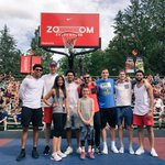 Great morning at #Hoopfest2016 with the guys! #GoZags #ThunderUp https://t.co/XKpNjYOGBJ