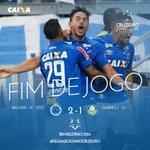 2T - (2-1) - 45(+4) - FIM DE JOGO NO MINEIRÃO! VITÓRIA DO #CRUZEIRO! https://t.co/fPazwGZgc1