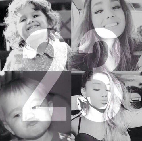 Happy birthday      Ariana grande I want to continue to support you. I promise   Have a good year~:)