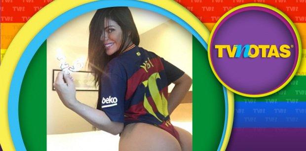 RT @TVNotasmx: Miss BumBum celebra cumpleaños de Messi ¡con otra candente fotografía! https://t.co/kqoqaU8WEN https://t.co/Z68FrelUEH