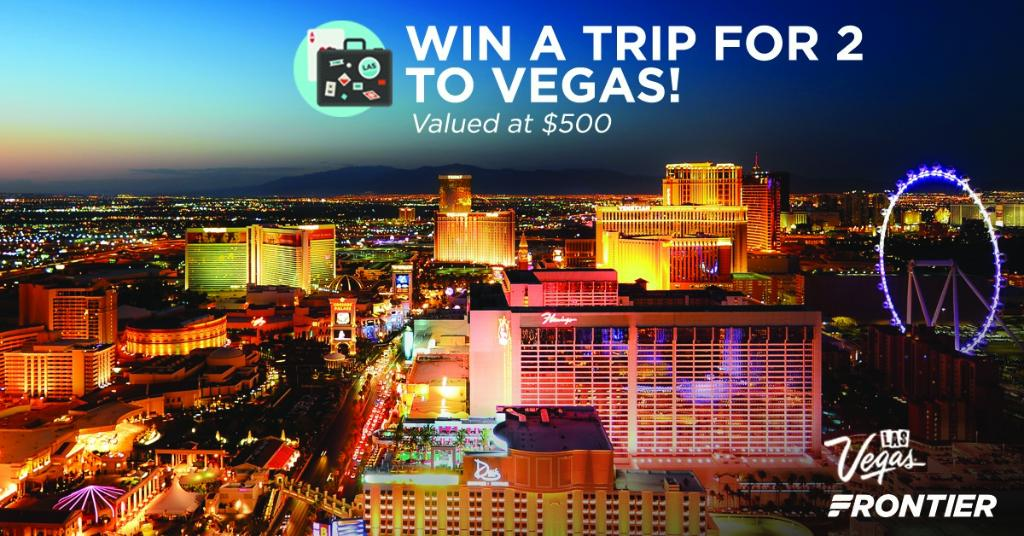 Columbus, we are giving away a trip for 2 to Vegas in honor of our new route! Enter here: