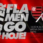 Hoje tem Flamengo! #AvanteMengão https://t.co/yrqIYpcWz1