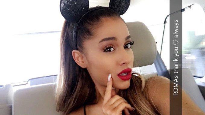 Happy Birthday   Ariana Grande  I like a song of Ali Ana very much.