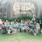 Stingray day at Stone Mountain! 💙💚 https://t.co/Bgl1NdFgby