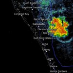 An intense storm with lots of lightning moving into #Sarasota. Careful on roadways! #SRQ https://t.co/8XXtBJT9hT