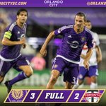 FULLTIME: Orlando City - 3 | Toronto FC - 2.  @KAKA seals it in the 💯 minute.   #3points https://t.co/LAuYDNke0k