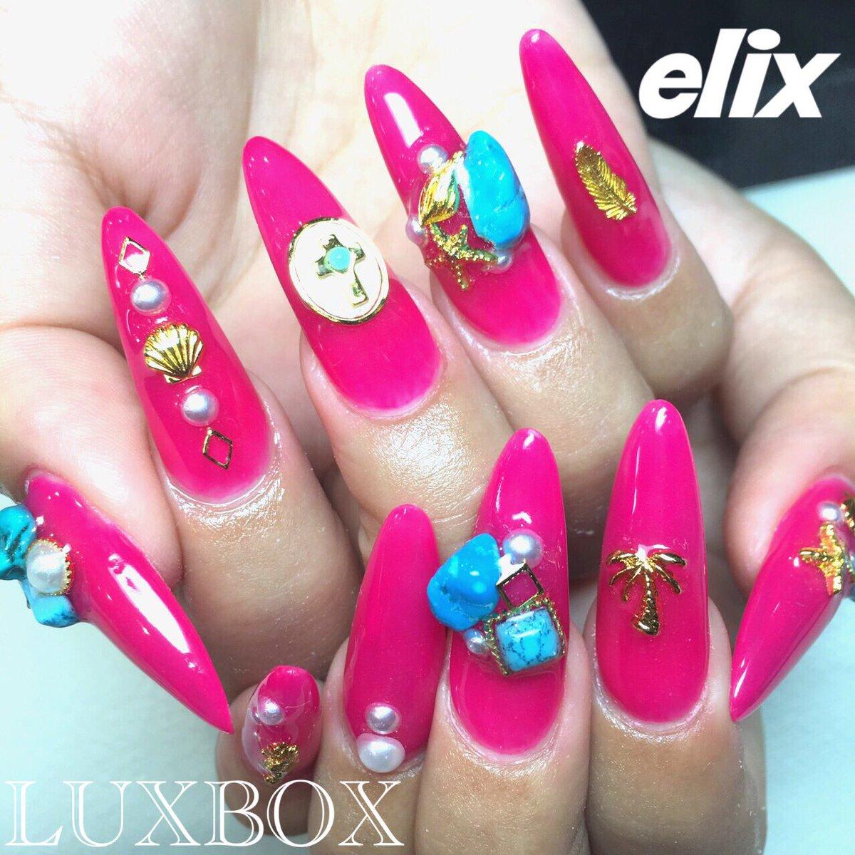 nail nailist nails japannail beauty japan 渋谷 ネイル ネイリスト 佐久間恵利 LUXBOX LUXBOX渋谷店