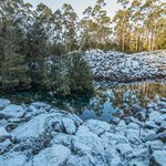 """Amazing photos from the fabled """"Disappearing Tarn"""" and """"Potato Fields of Mt Wellington"""" by Lewis Stadler #Tasmania https://t.co/j6UIL6C3X7"""