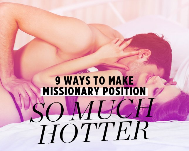 missionary position And