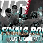 THE COASTAL CAROLINA CHANTICLEERS ARE HEADING TO THE #CWS FINALS!! https://t.co/kN5QDyJcbl