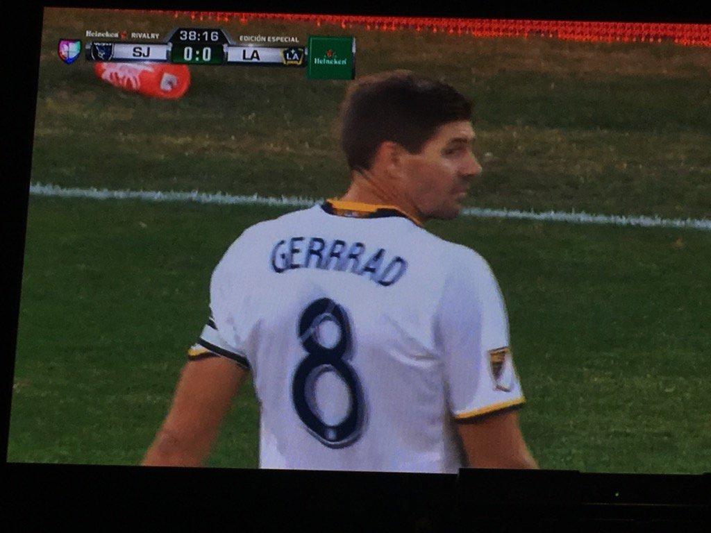 Steven Gerrrad he's grrrrrrreat! #LAGalaxy https://t.co/3EumQlhtHp