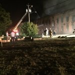 State Fire investigators are now on the scene of fire at warehouse in #Watervliet. @WTEN https://t.co/M3ln1JlDTl