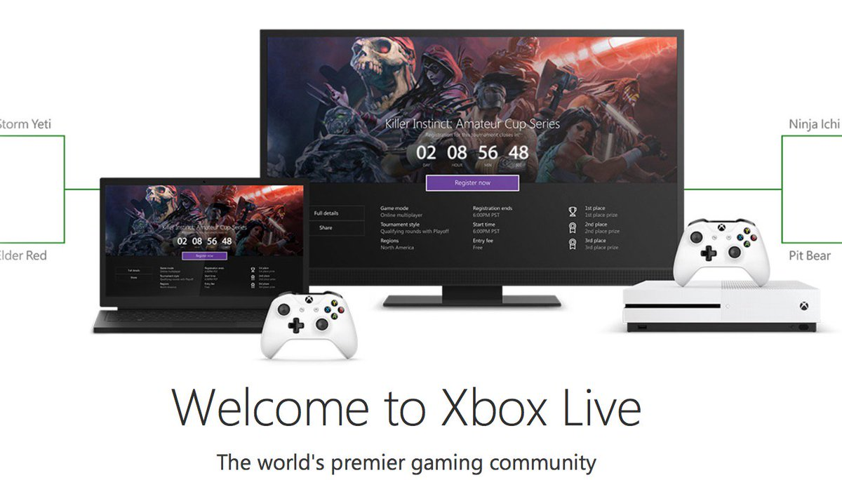12 month sub of Xbox Live, RT for your chance. #fans #Xbox https://t.co/kDKI4nl7vF