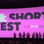 Most of the directors of the Star Power program @PSFilmFest #ShortFest are here for Q & A @MyDesert https://t.co/hGHsfkpwBA
