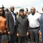 Photos: VP Yemi Osinbajo, Gov Ambode, Ministers, take inspection tour of Dangote's Lekki… https://t.co/Md8ulVF3nK https://t.co/sTqDI4Ehjr
