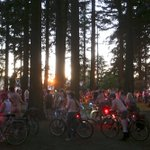 The World Naked Bike Ride is cruising through Southeast Portland right now. https://t.co/DZDxt71F2v