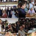 Rajoy y Sánchez llaman a participar, Iglesias se ve ganador y Rivera apela a los moderados https://t.co/iyMMQBwUts https://t.co/ZY3DUk6ILH