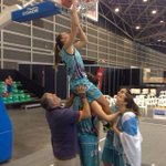 A ledicia é enorme!! Debut no Campionato #3x3U18 con título galego!! Merecida celebración!! #queboasson! https://t.co/wB705bl50S