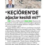 @06melihgokcek Ankaradaki bütün ağaçlara gözünü dikmiş!! Başkentimizi bu anlayıştan kurtaralım!! https://t.co/lj1LsXYMjm