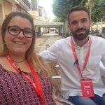 Dos de los apoderados mas jóvenes del PSOE,gracias chic@s https://t.co/DNPkkg5Gll