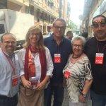 La candidata @socialistes_cat al Congrés .@MercePerea vota en #ElDiaDelSi en #LHospitalet #LaGenteDelSi #26J https://t.co/3NGlj3HpcA