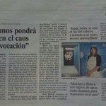 El País mejorando el periodismo; media página a una astróloga de una línea 902 para que analice las elecciones. https://t.co/Q6ViuZ0Ny7