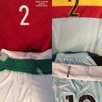 Válogatottunk a piros-fehér-zöld szerelésében, míg Belgium tiszta fehérben lép ma pályára. #HUNBEL #csakegyutt https://t.co/5Dlu2FGxof